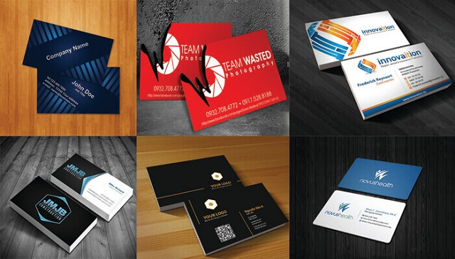 Mẫu thẻ thiết kế chuyên nghiệp sang trọng