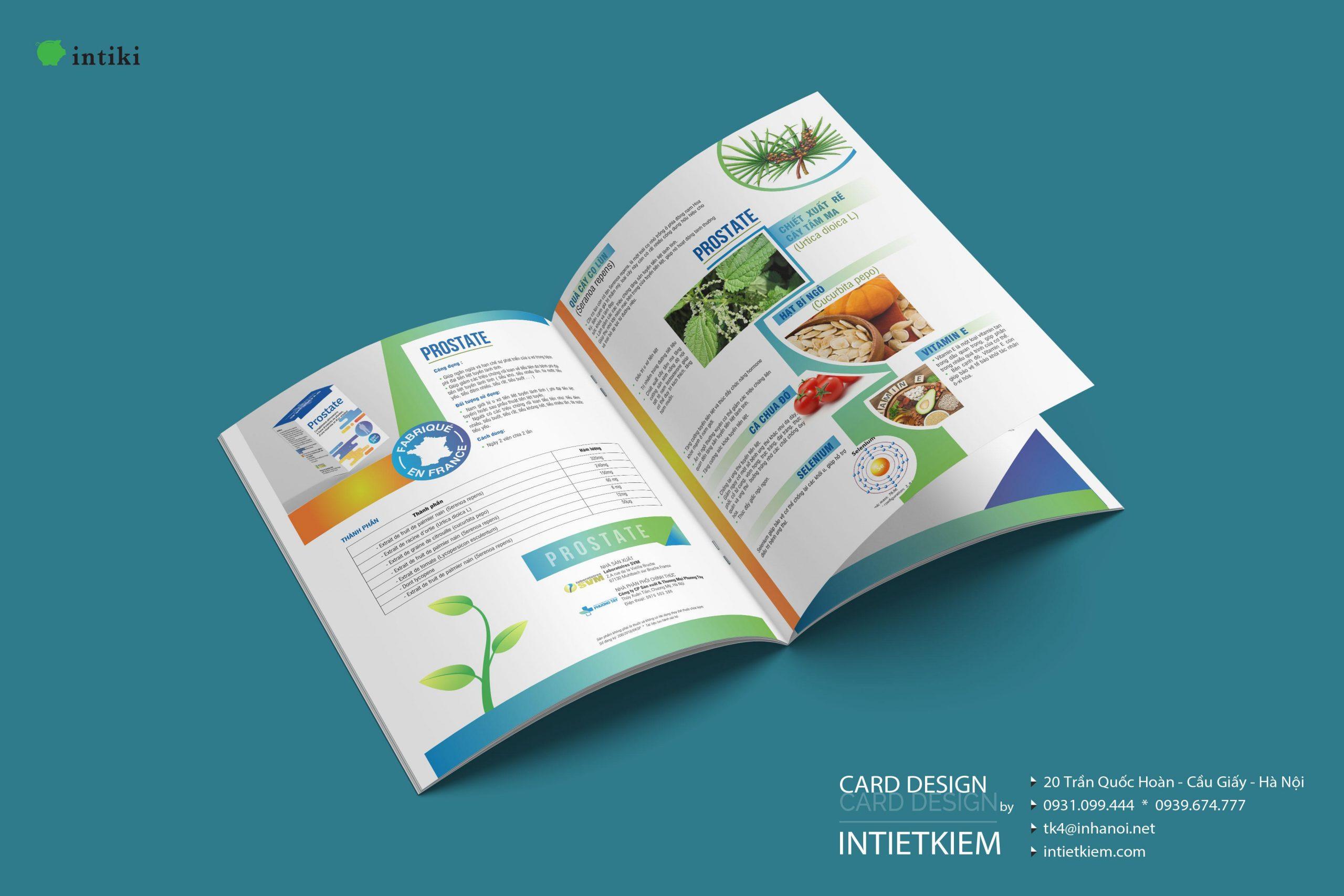 Catalogue mở phẳng