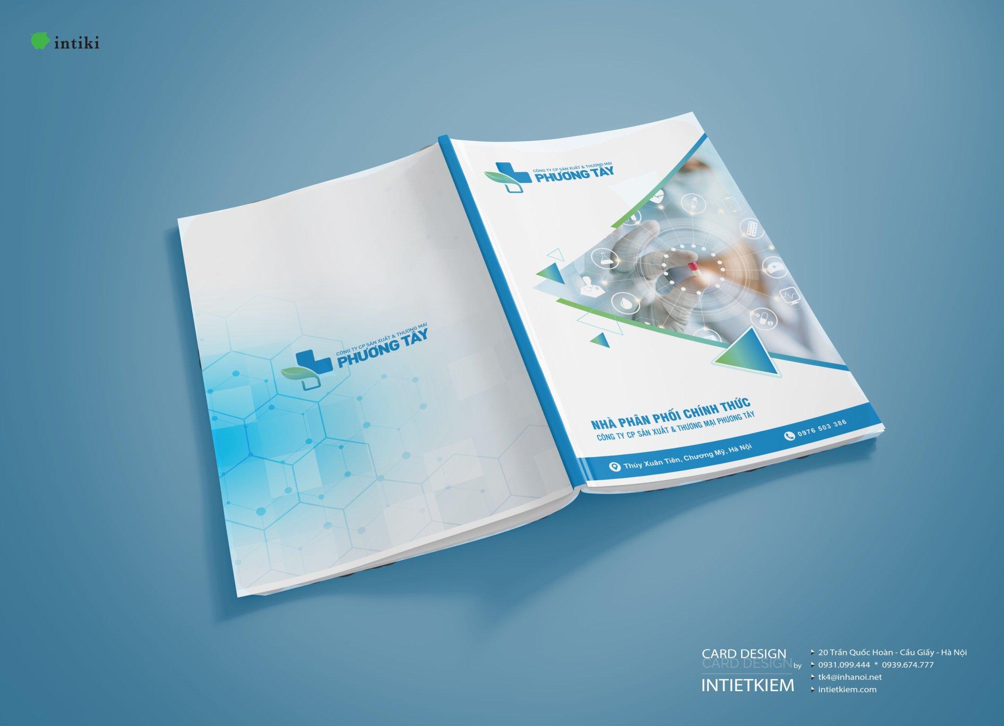 Thiết kế catalogue và in thử nghiệm