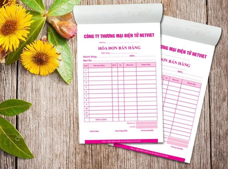 Chất liệu giấy in hóa đơn