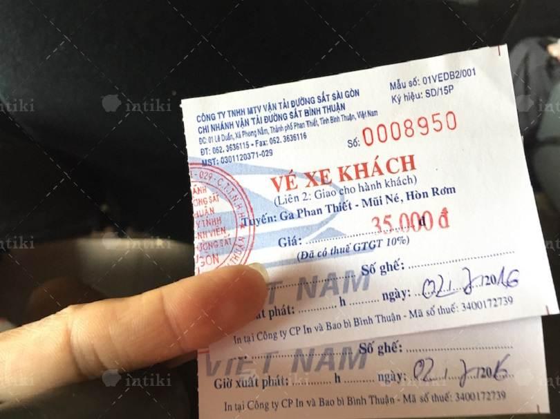 Dịch vụ in thẻ xe, vé xe tại In Tiết Kiệm -in ve giu xe