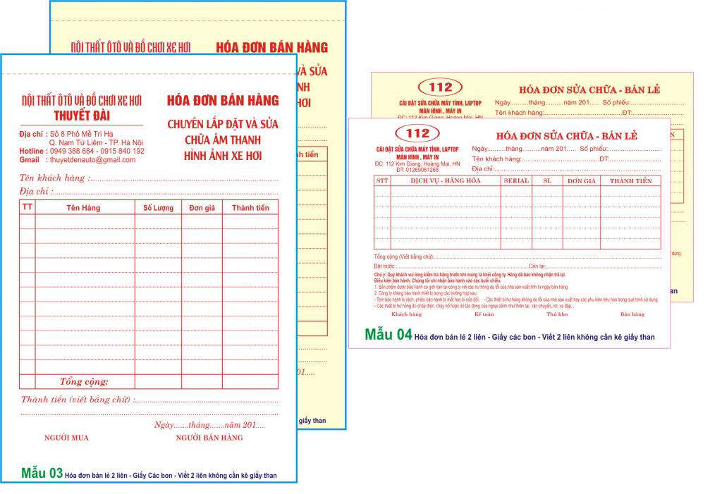in hóa đơn giá rẻ - ✅ dịch vụ thiết kế hóa đơn uy tín tại intiki