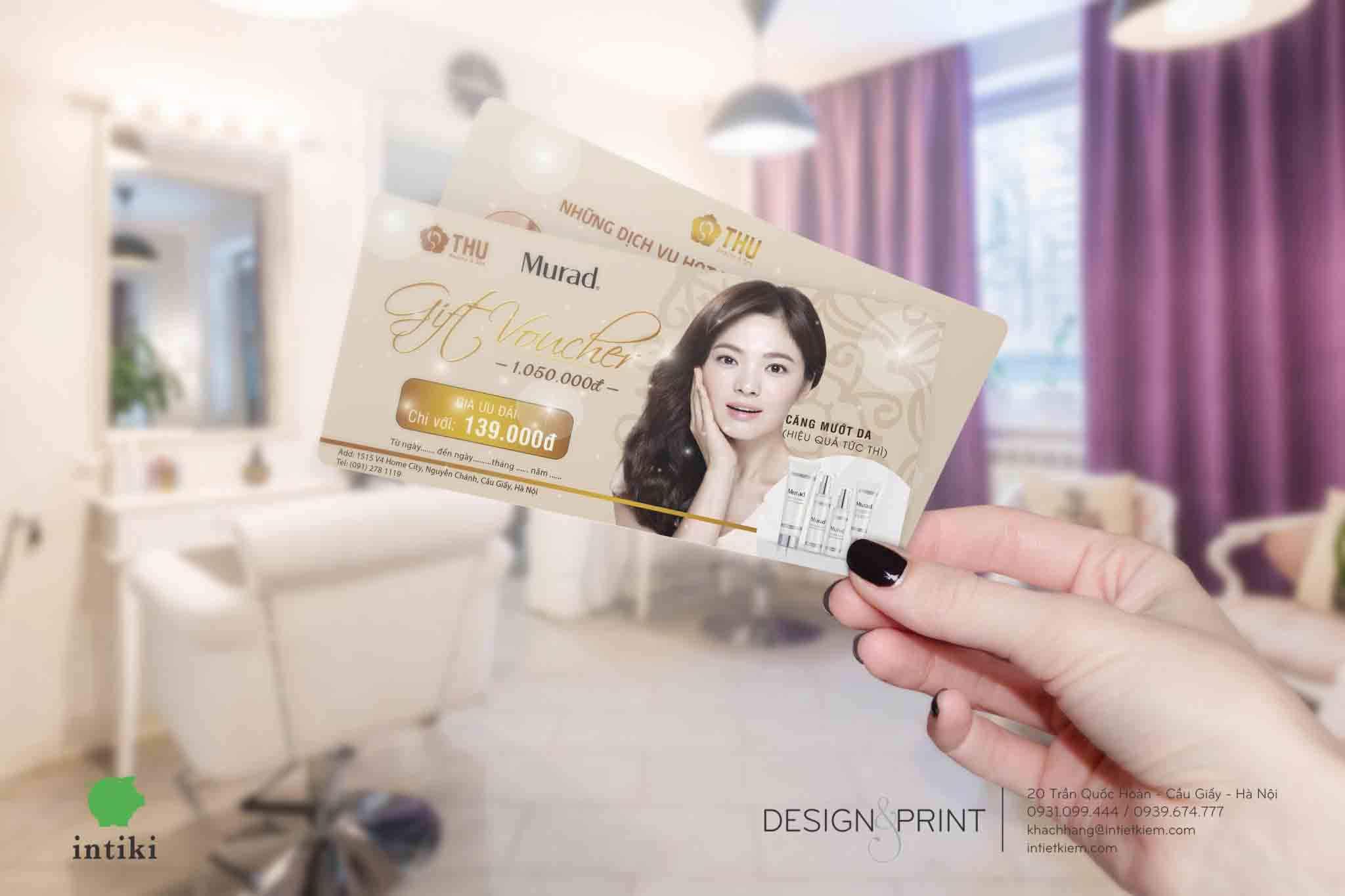 Quy trình in voucher tại In Tiết Kiệm