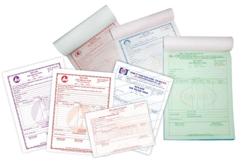 Tìm hiểu các loại hóa đơn