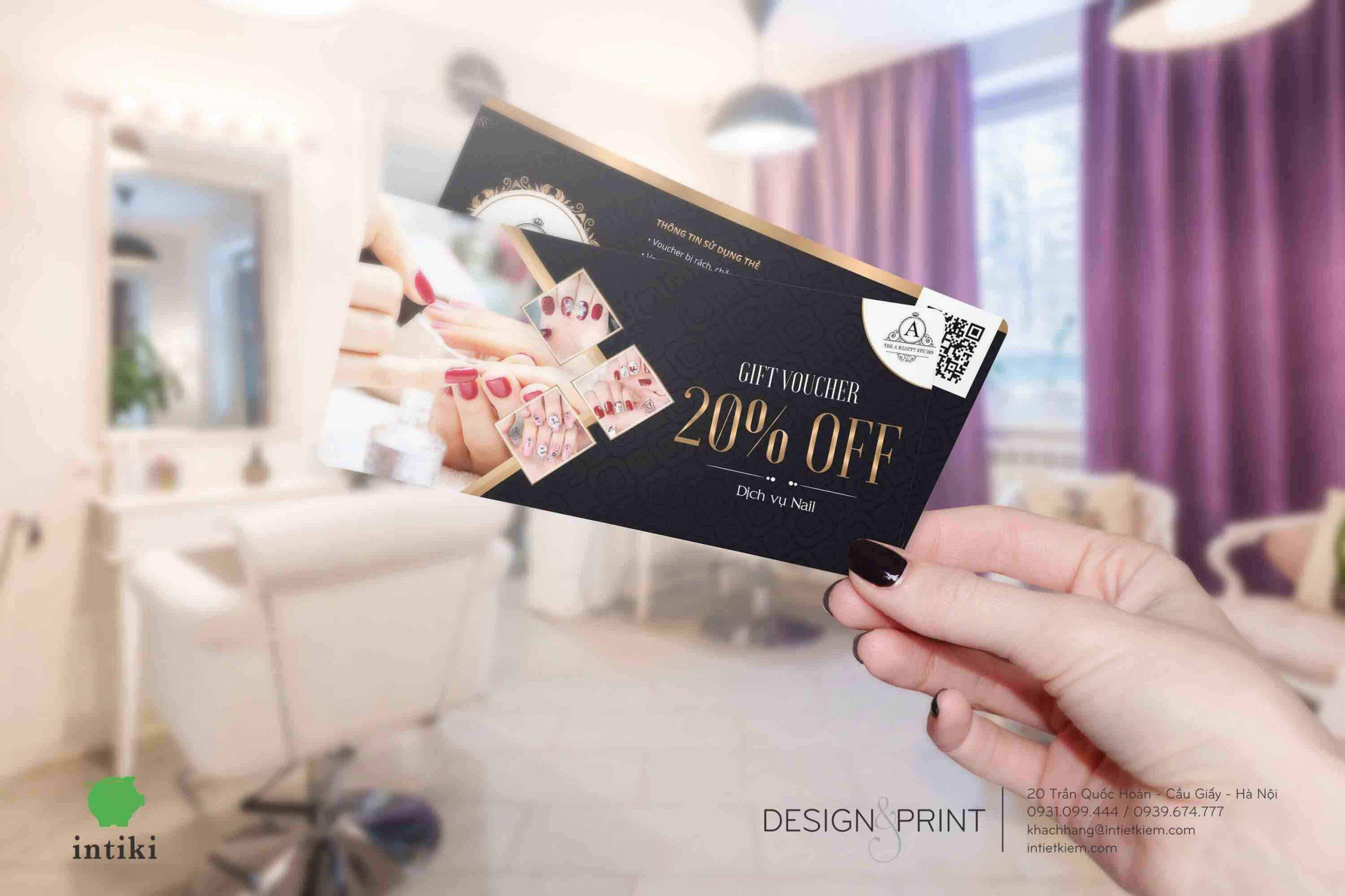 Tìm hiểu chất liệu giấy in voucher