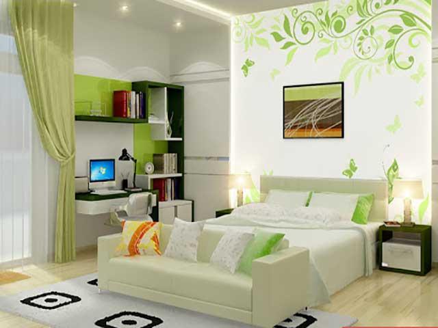 Giấy dán tường cho không gian đẹp