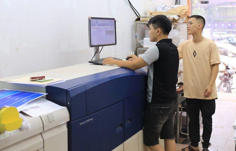 In Tiết Kiệm cung cấp dịch vụ in ấn với quy trình khoa học và nhanh gọn