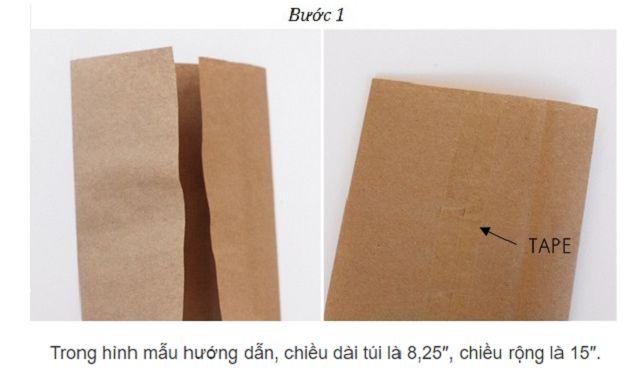Cách làm túi đựng bánh mì 1