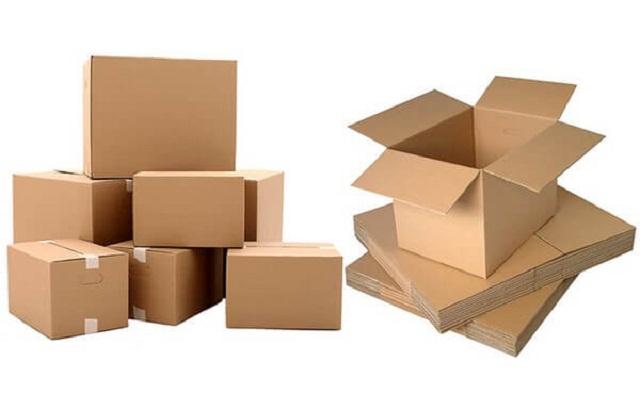 Kích thước chung của thùng carton
