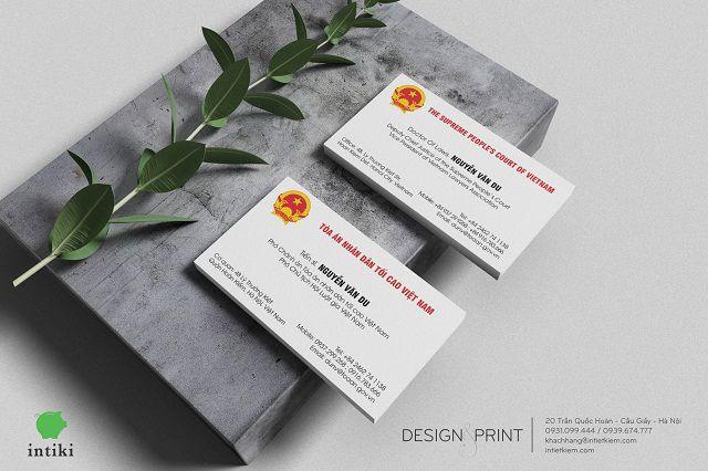 Card visit là một ấn phẩm quan trọng trong kinh doanh