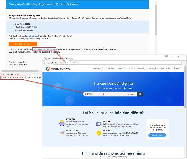 Tra cứu hóa đơn điện tử theo file