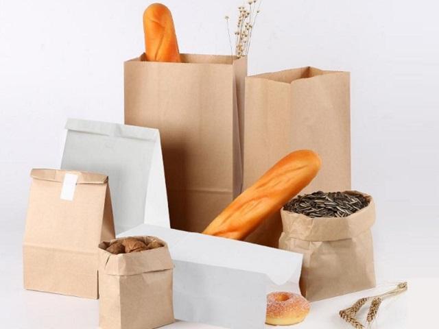 Túi giấy đựng bánh mì được yêu thích bởi nó thân thiện với môi trường