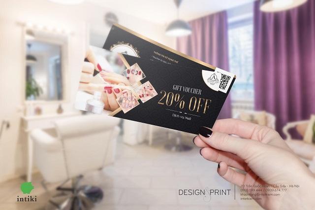 Cách thiết kế voucher