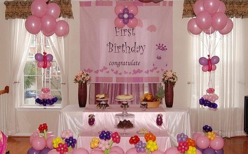 Bữa tiệc sinh nhật đáng nhớ cùng sự góp mặt của backdrop
