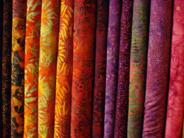 Các phương pháp in vải