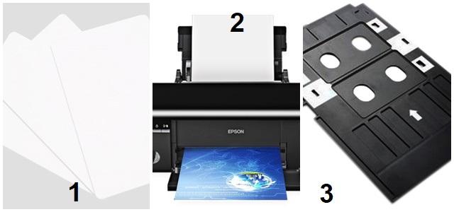 Các thiết bị in thẻ nhựa PVC 3 lớp