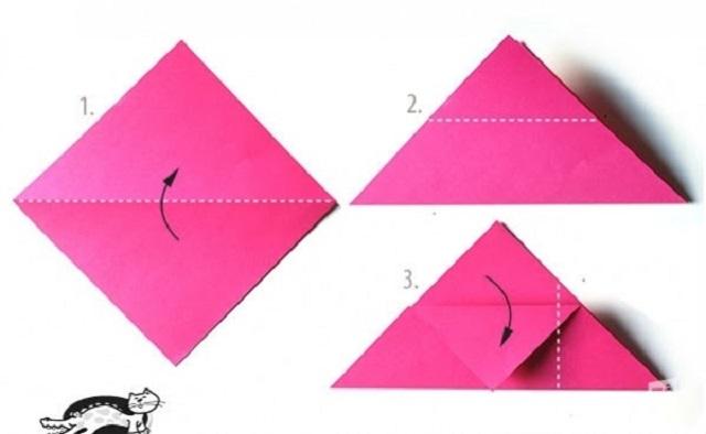 Cách gấp phong bì từ giấy A4 hình nghộ nghĩnh 2