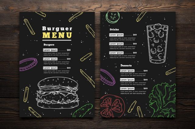 Cách làm menu nhà hàng phải thật đơn giản, dễ hiểu