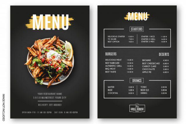 Hướng dẫn cách làm menu quán ăn chi tiết nhất