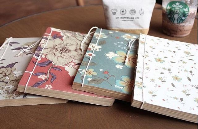Các bạn có thể thỏa sức trang trí cho cuốn sổ tay của mình