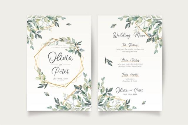 Font chữ thường được dùng trong in thiệp cưới
