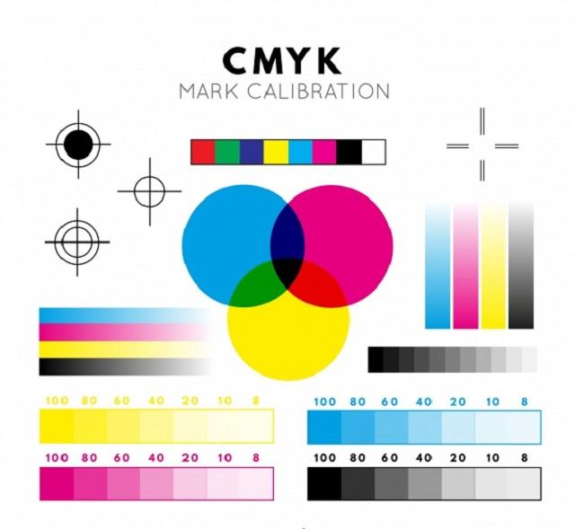 Hệ màu CMYK trong in ấn