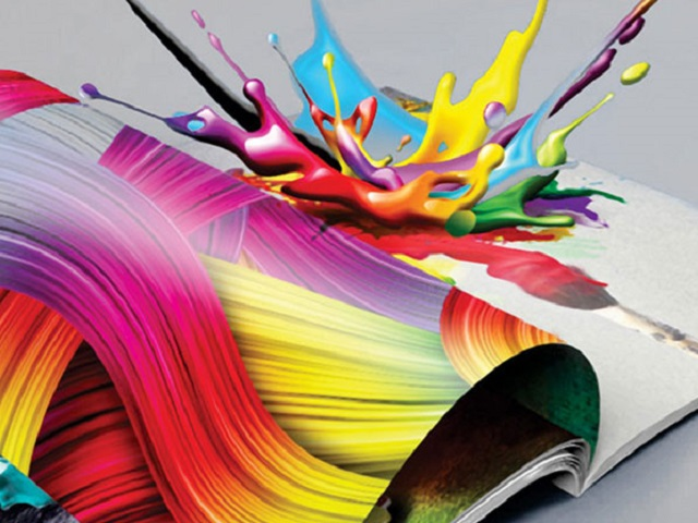 In ấn là một quá trình tái tạo lại các văn bản và hình ảnh trên các chất liệu khác
