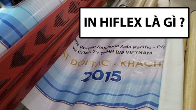 In hiflex quảng cáo là lựa chọn phổ biến