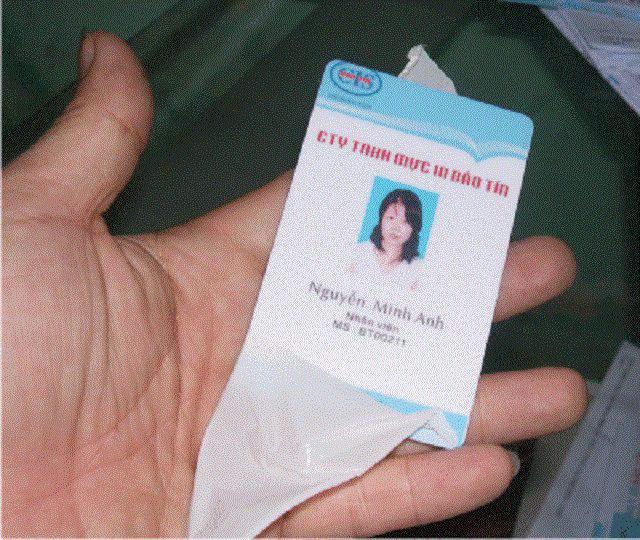 In thẻ nhựa PVC 3 lớp - 6