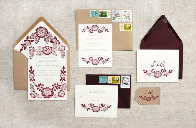 Thiệp cưới - Sản phẩm của in lụa trên giấy