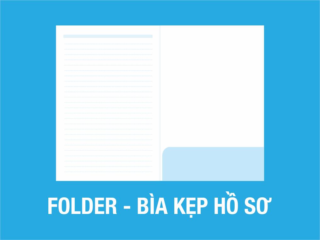 Quy cách in bìa folder