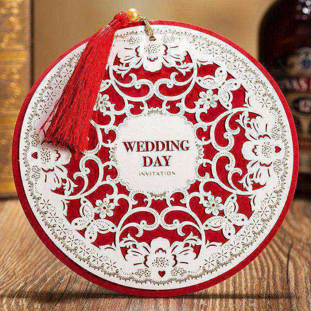 Kích thước thiệp cưới hình chữ nhật