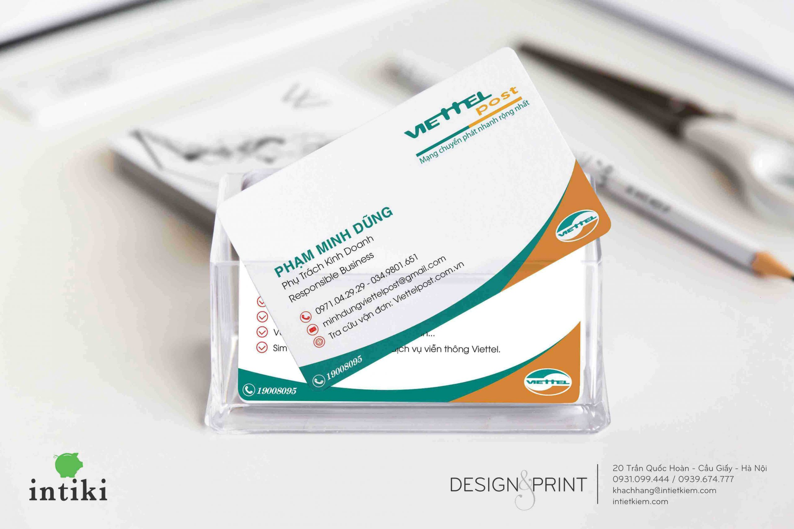 Anh card - Thông tin trên name card luôn đảm bảo yếu tố cần và đủ