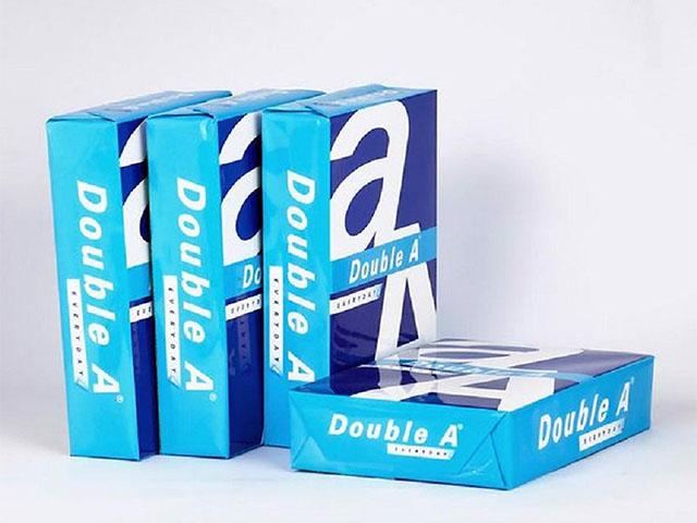 Double A là loại giấy được sử dụng phổ biến nhất hiện nay
