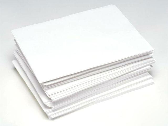 Dựa vào độ láng mịn có thể đánh giá chất lượng của giấy